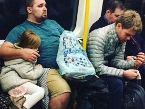 london subway lifeoftwo